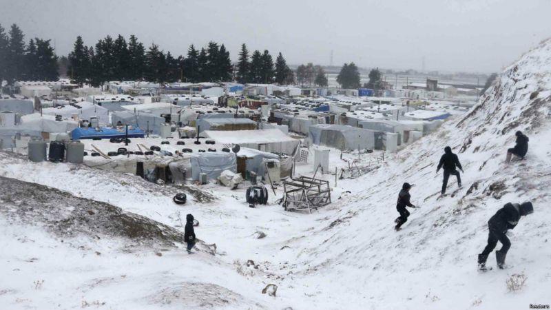 ألمانيا تدعم النازحين في شمال غرب سوريا بمبلغ 20 مليون يورو لمواجهة قسوة الشتاء