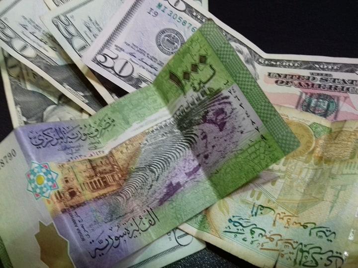 الدولار يستقر مقابل الليرة السورية في نهاية الأسبوع