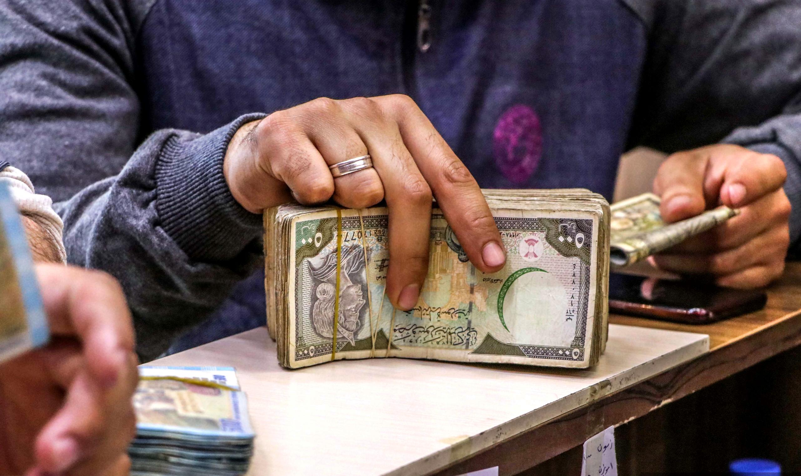 استقرار في سعر صرف الدولار الأمريكي مقابل الليرة السورية