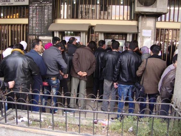 أزمة مصرفية تشهدها مدينة دير الزور
