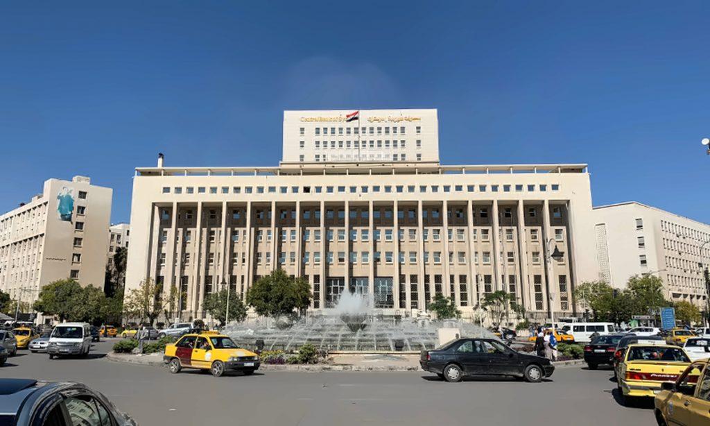 المركزي السوري يفرض قيود على الشيكات البنكية