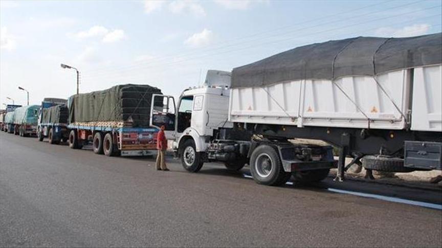 الصادرات السورية تعود للعبور عبر العراق والأردن