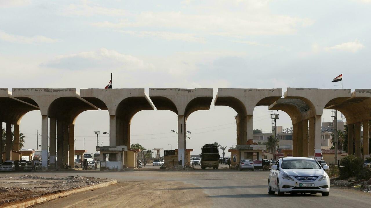 الأردن يغلق معبر جابر نصيب الحدودي مع سوريا